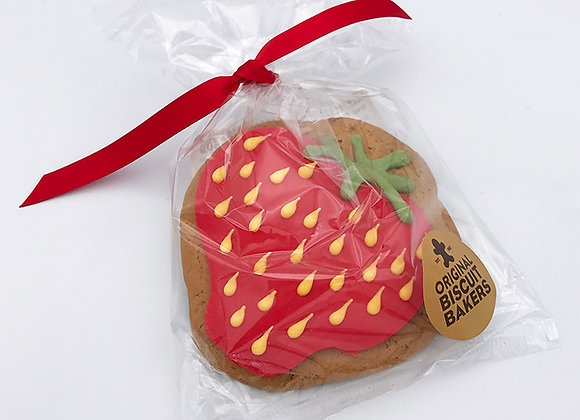 Iced Strawberry Cookie