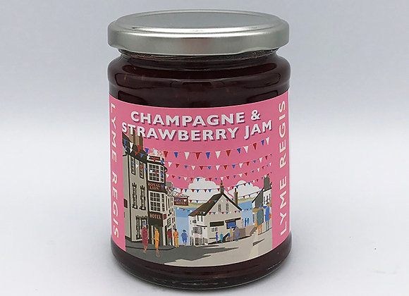 Champagne & Strawberry Jam