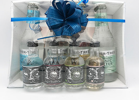 Lyme Regis Gin & Fevertree Tonics
