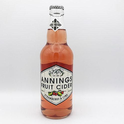 Strawberry & Lyme Cider