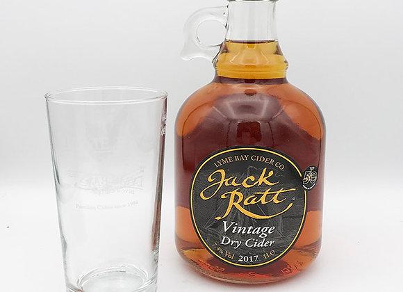 Vintage Dry Cider 1Ltr & Glass