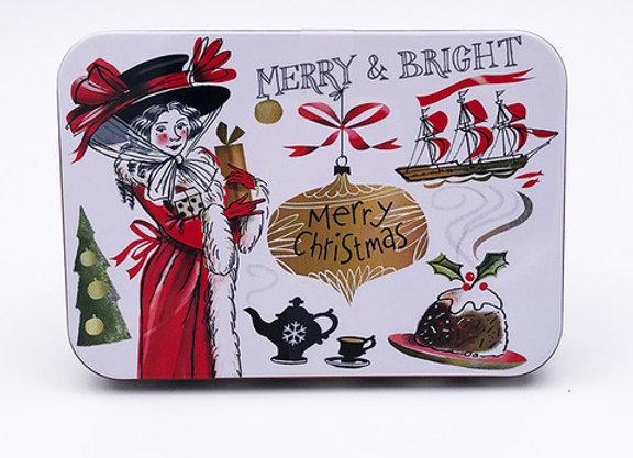Merry & Bright Tin of Fudge