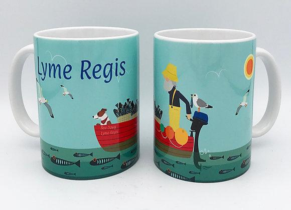 Lyme Regis Mug