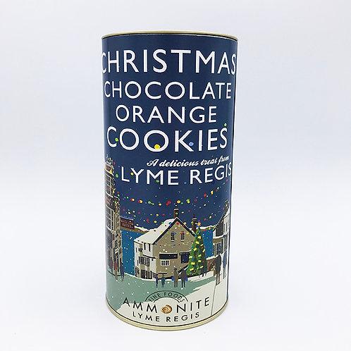 Christmas Chocolate Orange Cookies