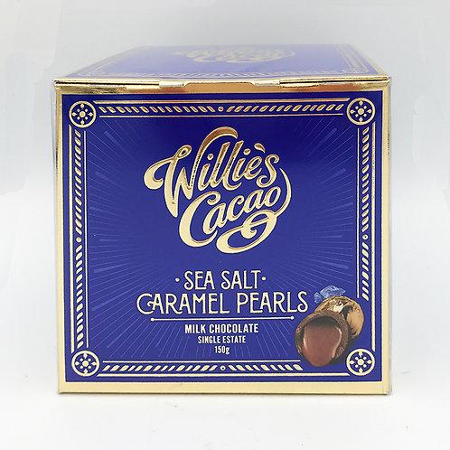Willies Milk Sea Salt Caramel Pearls