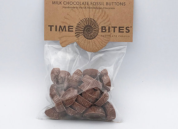 Milk Chocolate Fossil Buttons