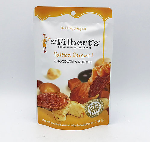 Filberts Salted Caramel Nuts & Chocolate