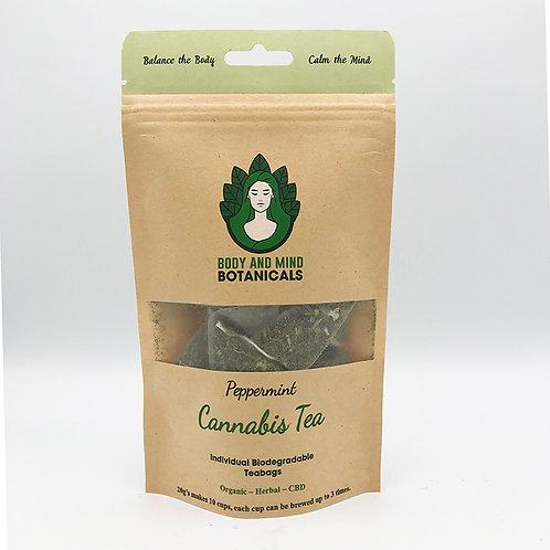 Peppermint Cannabis Tea Bags