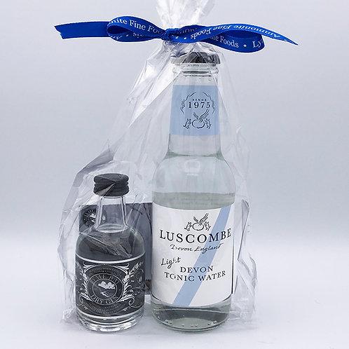 Lyme Bay Gin & Light Tonic