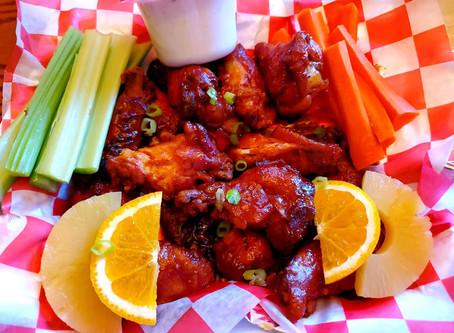 Orange / Pineapple BBQ Wings