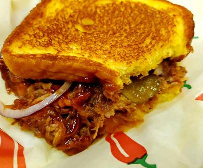 TX meaty Melt Sandwich