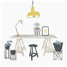 Painted Desk