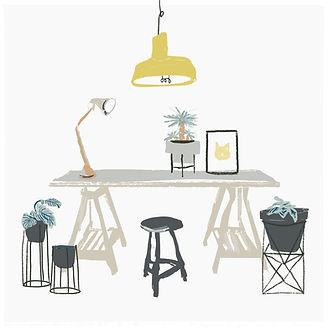 pintado Desk