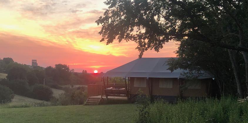 Glamping Lodge sunset.jpg