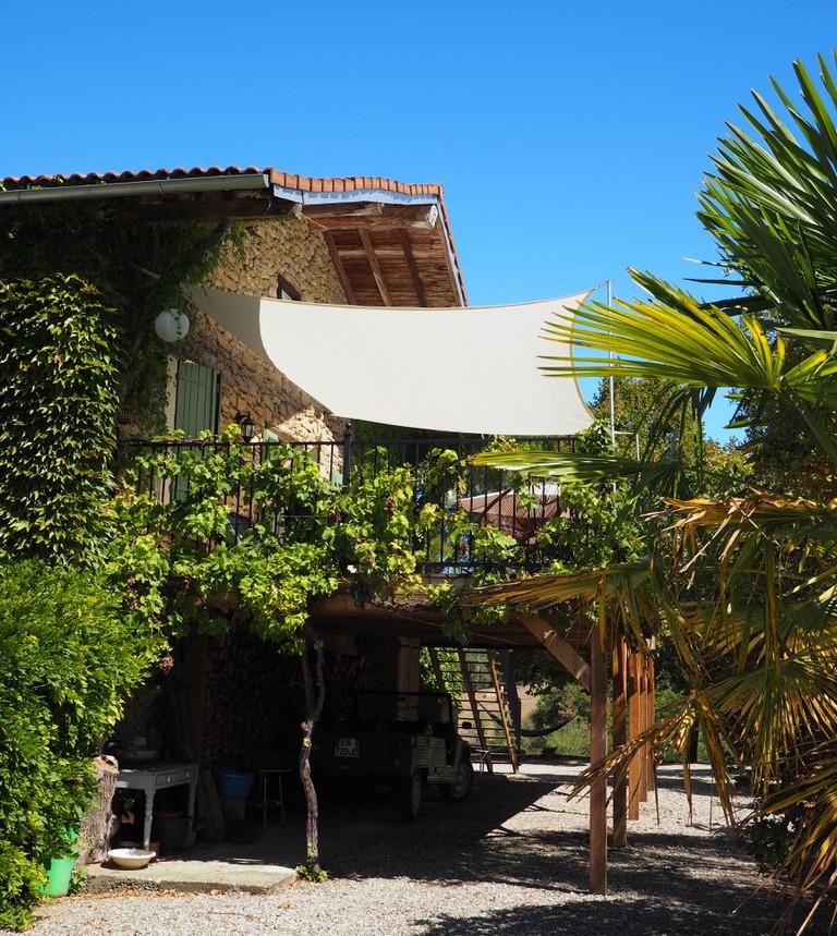 Gîte Romarin terrasse