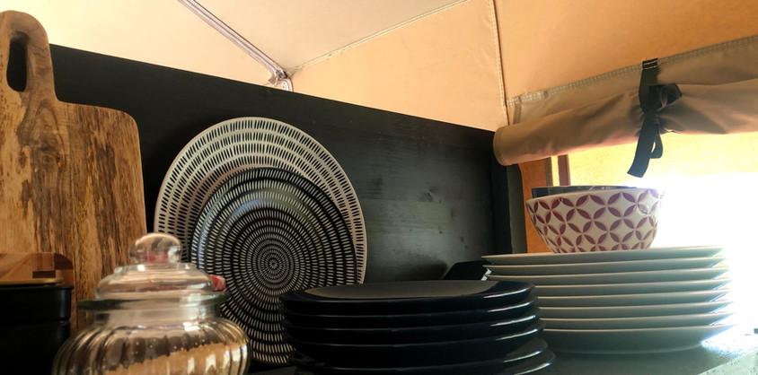 Tableware Glamping Lodge