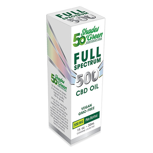 50 Shades of Green Full Spectrum CBD Oil