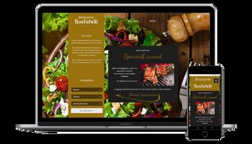 Website Brasserie Hoefstad