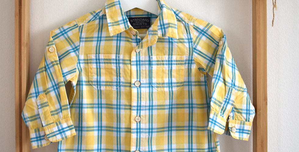 ZARA károvaná košeľa
