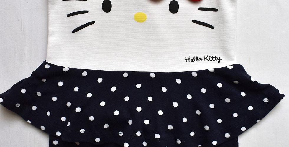 Hello Kitty šaty s púzdrovou sukňou