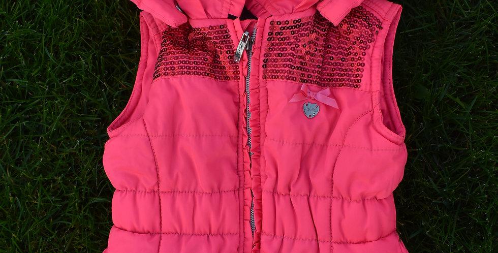 Ružová vesta Le Chic