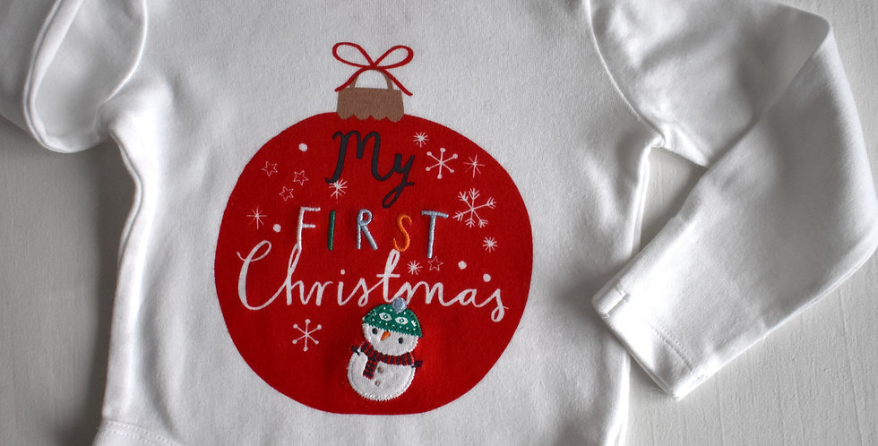 First Christmas Body