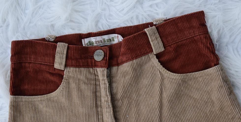 Menčestrové nohavice