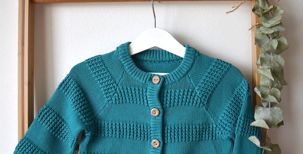Bavlnený sveter Turquoise