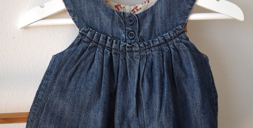 Baby Denim šaty Zara