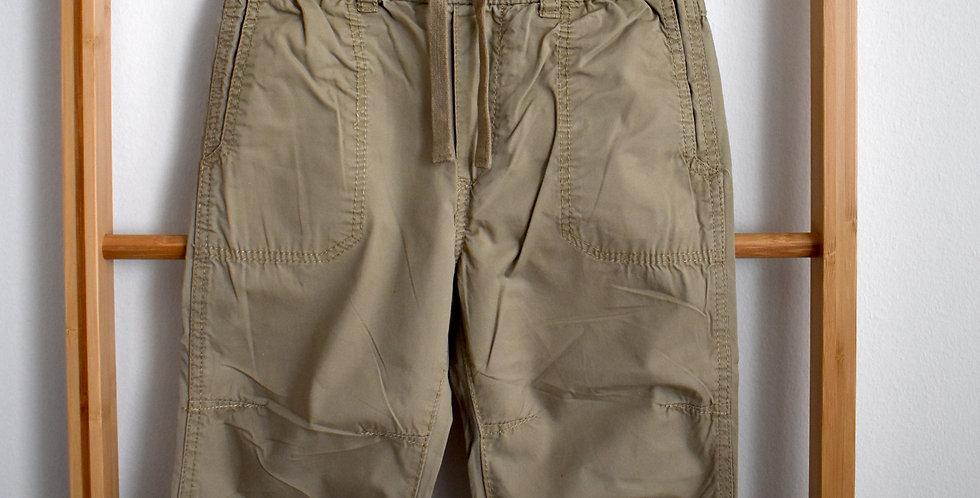 Bledohnedé kapšáčové nohavice