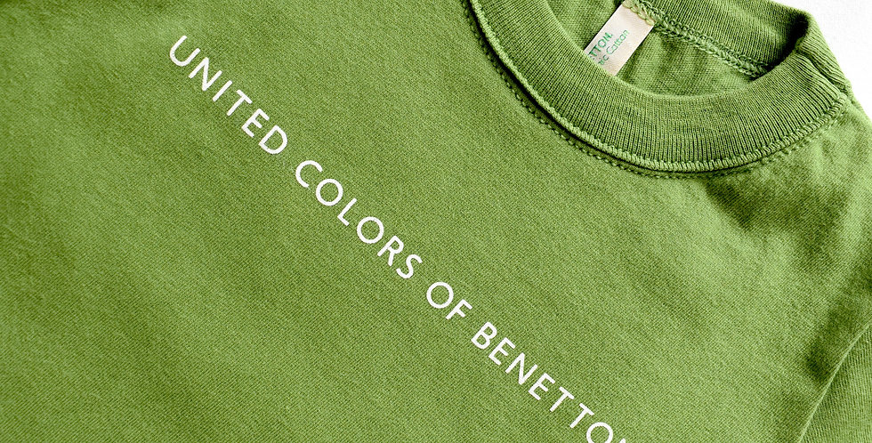 Benetton tričko Green