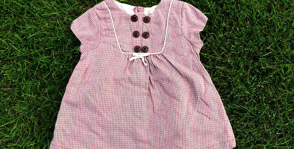 Ružové vidiecke šaty
