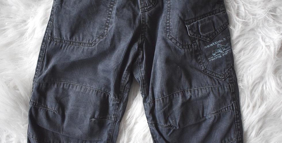Teplé kárované nohavice