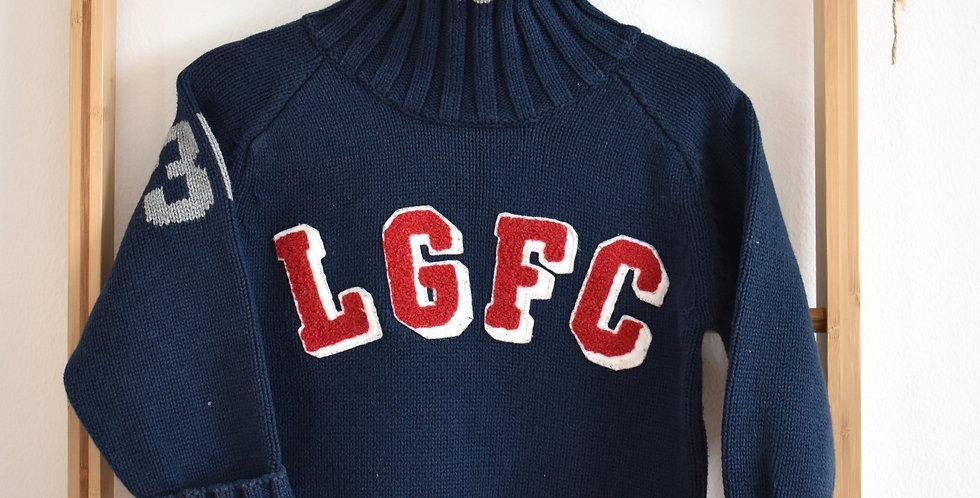 Bavlnený sveter s rolákom
