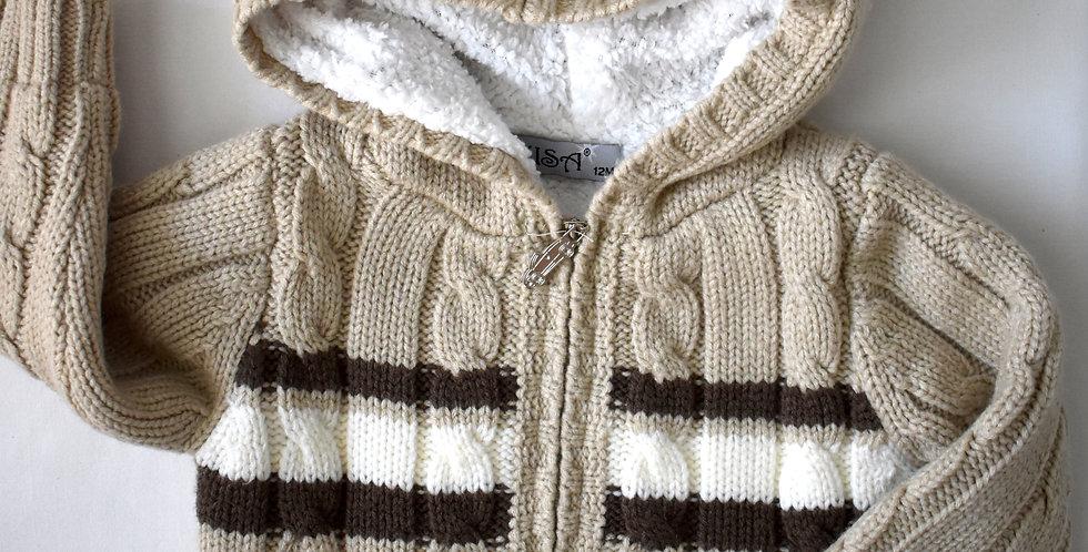 Hrejivý sveter s kapucňou