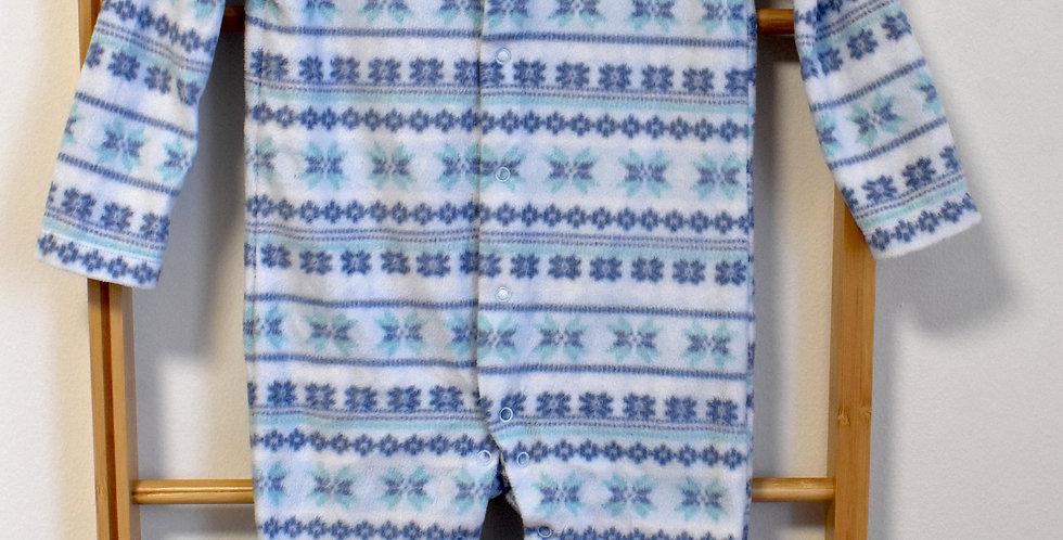 Overal/Pyžamko so zimným motívom