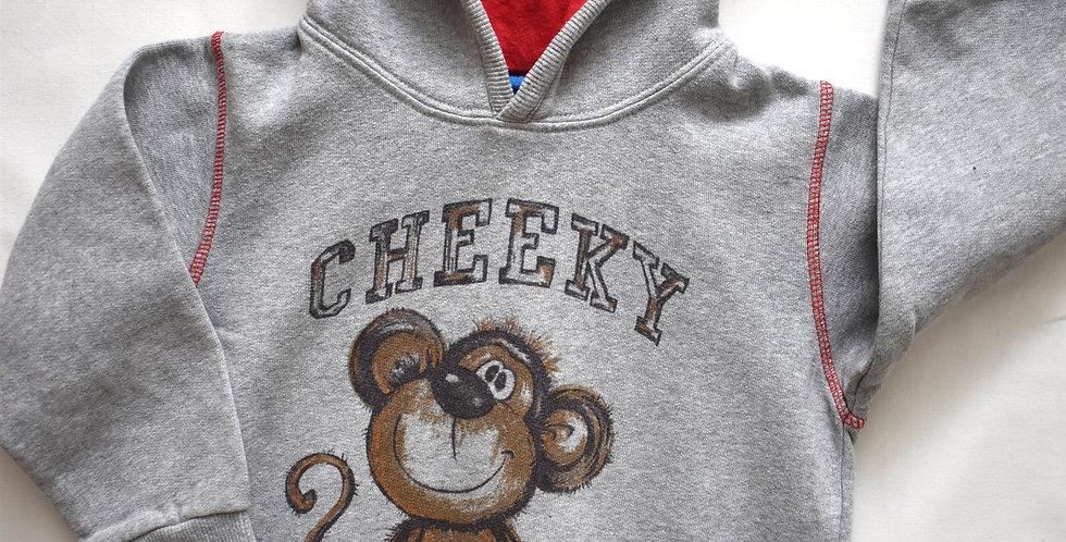 Cheeky mikina Next s kapucňou
