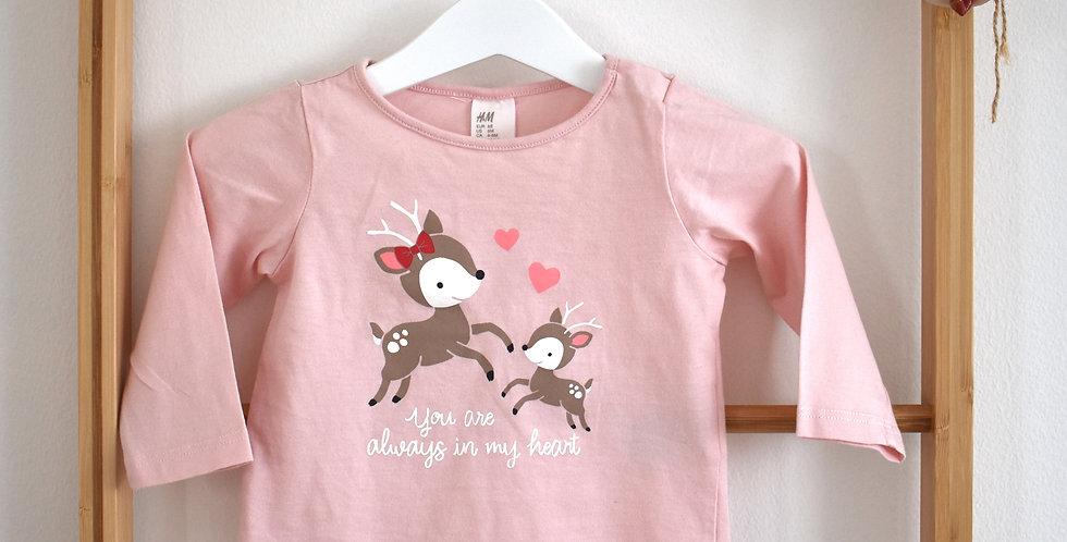 Tričko so zvieratkami