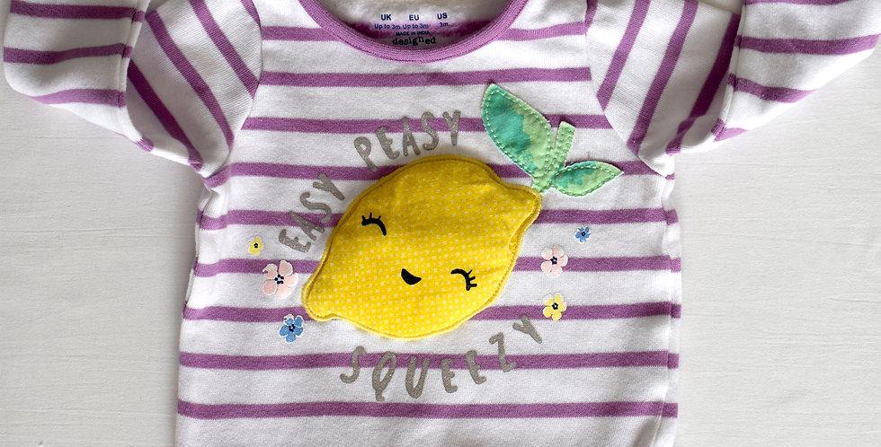 Easy Peasy Lemon Squeezy svetrík