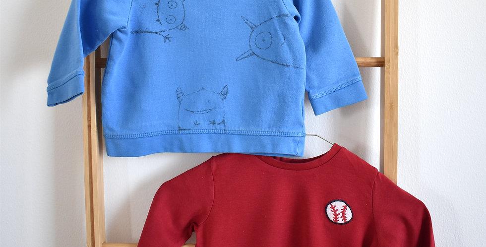 Chlapčenská súprava mikiny a trička