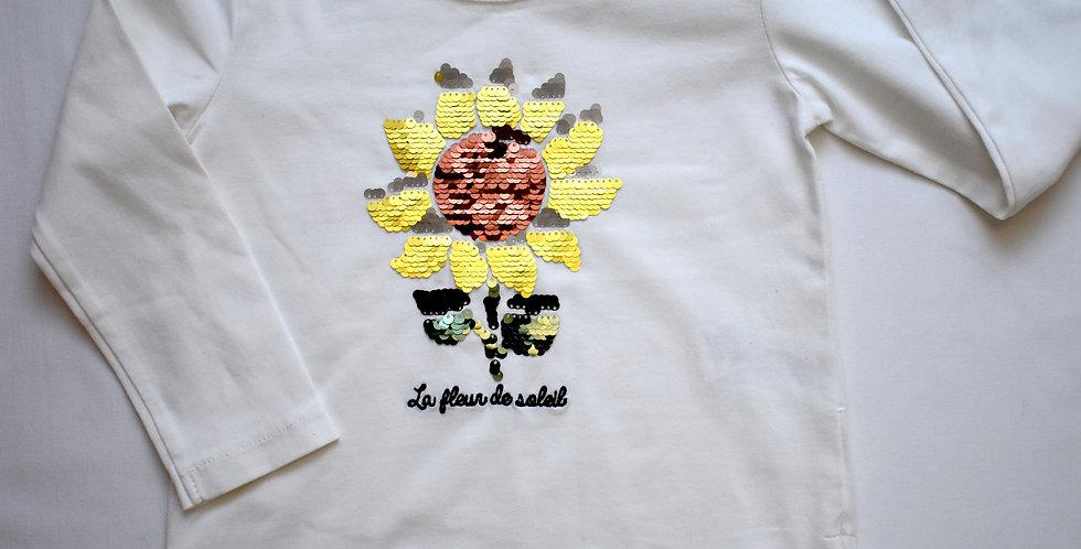 Zara tričko s flitrami