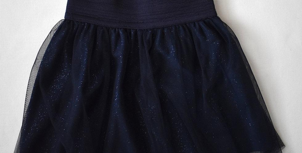 Trblietavá tylová sukňa
