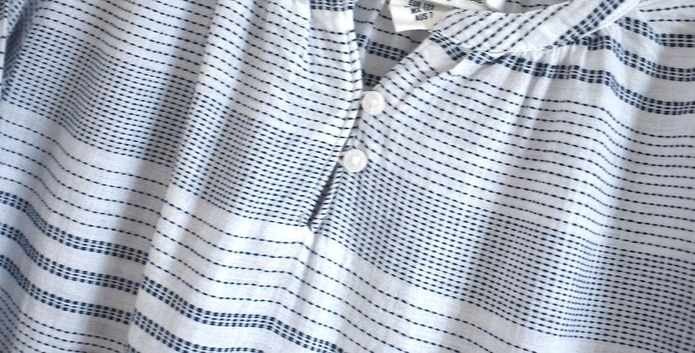 Jemné pásikové šaty