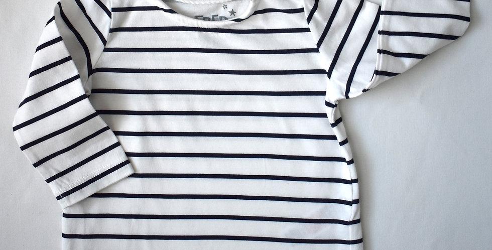 Basic tričko B&W