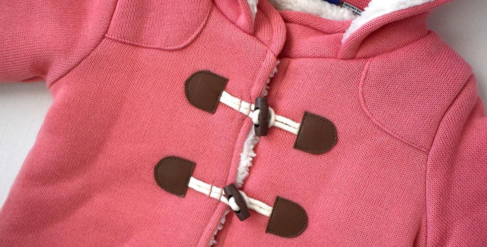 Hrejivý sveter s kapucňu Pure