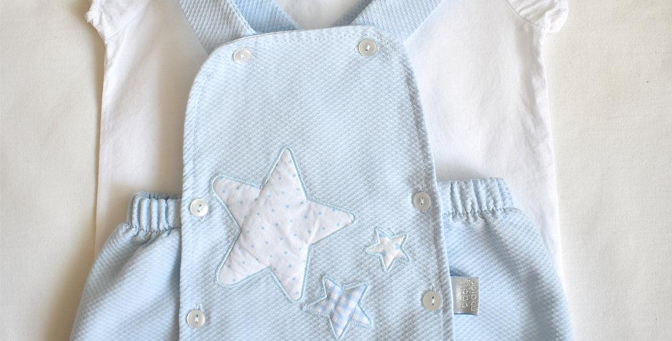 Baby set s krátkymi nohavicami