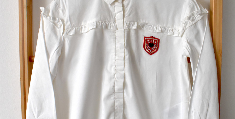 """Mayoral košeľa s červeným ,,odznakom"""""""