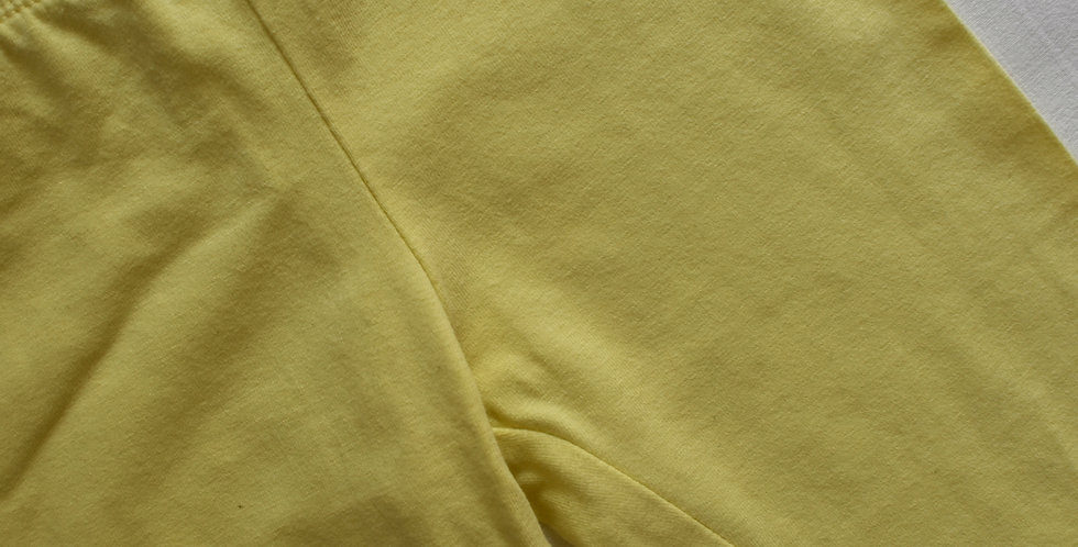 Basic žlté legíny