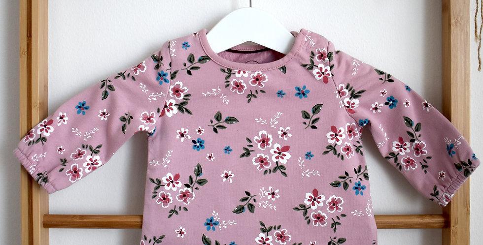 Kvetinkové tričko