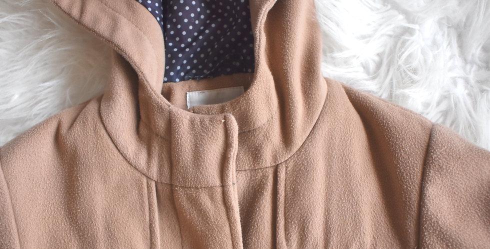 Štýlový flaušový kabátik